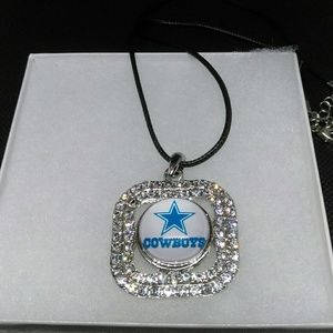 Jewelry - Dallas Cowboys Snap Button Necklace